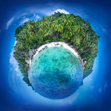 Samui island, Thailand. Perfect resort background. Beautiful little planet of the coast line at Samui island, Thailand. Perfect resort background royalty free stock image