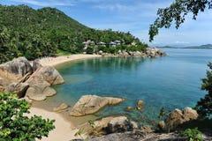 samui lamai острова пляжа Стоковая Фотография