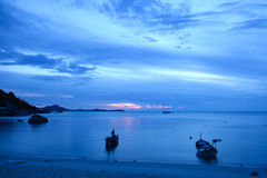 Samui Lamai beach early in the morning Sunrise Stock Image