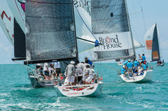 Samui regatta 2014 Arkivbild