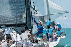 Samui regatta 2014 Arkivfoton