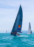 SAMUI REGATTA 2015, THAILAND - MAY 25 : Event at Chaweng beach , Royalty Free Stock Photos