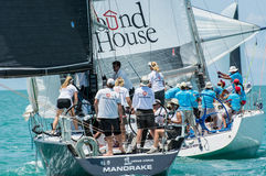 Samui regatta 2014 Royalty Free Stock Photos