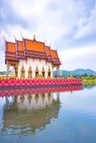 SAMUI, TAILÂNDIA - 2 DE JULHO DE 2016: Templo Wat Plai Laem Imagens de Stock Royalty Free