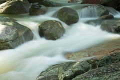 Samui Thaïlande de KOH de cascade de HinLad photos stock