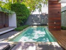 SAMUI, THAILAND - JUNI 29: Architectuur buiten van X2 Reso Royalty-vrije Stock Afbeelding