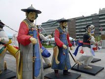 Samulnori, Corea Fotografie Stock