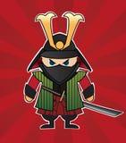 Samurai vektor abbildung