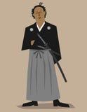 Samurai Ilustração do Vetor