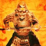 samurai Royaltyfri Fotografi