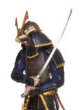 Samurai in armor Royalty Free Stock Photo