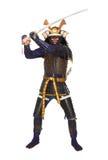 Samurai in armor Stock Photos
