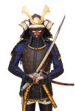 Samurai in armor Stock Photo
