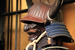 Free Samurai Armor. Kabuto And Mempo Stock Photography - 53144022