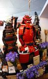 Samurai armour wear by ancient Japanese soldier. Shot of Samurai armour wear by ancient Japanese soldier Stock Image