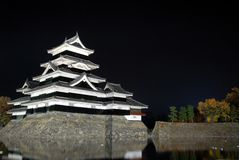 Samurai castle Royalty Free Stock Images