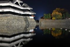 Samurai castle Stock Photography
