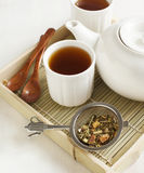 Samurai Chai Mate Tea. Selective focus Royalty Free Stock Images
