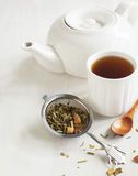 Samurai Chai Mate Tea Stock Image