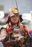 Samurai da semana de Nisei Foto de Stock Royalty Free