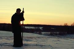 Samurai del guerrero imagenes de archivo