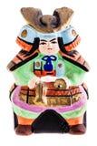 Samurai do japonês da terracota Imagens de Stock