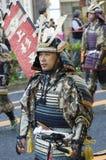 Samurai en el festival japonés
