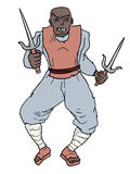 Samurai fighter Stock Image