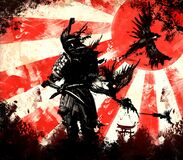 Free Samurai From Which Birds Fly Stock Images - 193611484