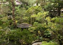 Samurai house garden, Kanazawa, Japan Stock Images