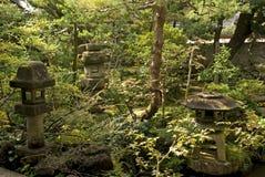 Samurai house garden, Kanazawa, Japan Royalty Free Stock Image