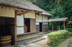 Samurai House Stock Photo