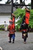 Samurai im Odawara-Schloss lizenzfreies stockfoto