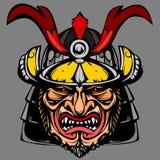 Samurai japan VECTOR ART illustration Royalty Free Stock Photography