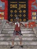 Samurai japonês Fotografia de Stock