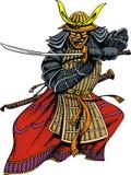 Samurai man Stock Image