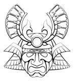 Samurai Mask Helmet Stock Photography