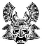Samurai Mask Stock Photos