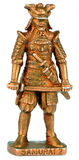Samurai miniature statuette Stock Images