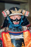 Samurai. Moscow, Russia - September 18, 2016: Samurai in ancient armor during the performance Royalty Free Stock Image