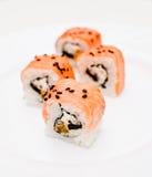 Samurai rolls Stock Image