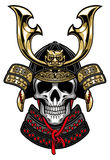 Samurai Skull Royalty Free Stock Images
