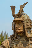 Samurai statue Royalty Free Stock Photo
