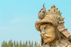 Samurai statue Royalty Free Stock Image