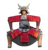 The samurai statue Stock Images