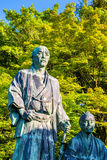 Samurai statue in Maruyama Park, Kyoto Royalty Free Stock Images