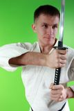 Samurai sword Stock Images