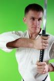 Samurai sword Stock Images
