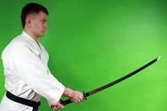 Samurai sword Stock Photography