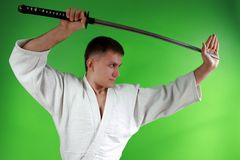 Samurai sword Stock Photos